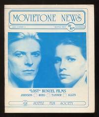 Movietone News; issue number 51 (August 29, 1976) [cover: David Bowie and  Candy Clark in THE MAN WHO FELL TO EARTH]