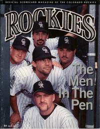Official Scorecard Magazine of the Colorado Rockies : September/October 1995, Volume 3, Number 5