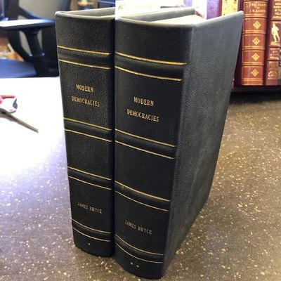 New York: The MacMillan Company, 1921. First Edition. Hardcover. Octavos, 2 volumes; VG; newly rebou...
