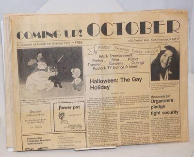 San Francisco: Bill Hartman & Roland Shembari, 1980. Newspaper. Nine issue broken run, four pages ea...