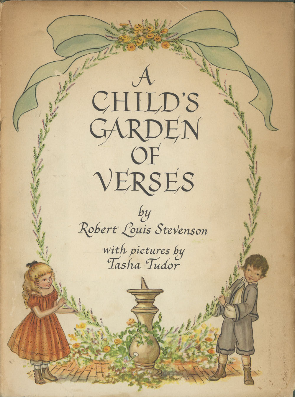 A Child 39 S Garden Of Verses By Robert Louis Illustrated By Tasha Tudor Stevenson Hardcover