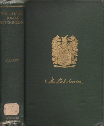 Boston: Houghton Mifflin, 1896. First Edition. Hardcover. Fair. Octavo. , xxviii, 453 pages, . Illus...