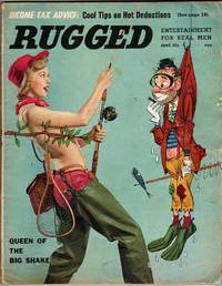 """Rugged - """"Entertainment for Real Men"""" - June 1957 - Vol.1 No.3 [MAGAZINE]"""