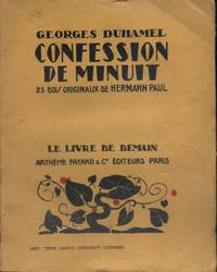 image of Confession de minuit. (Vie et aventures de Salavin - 1).