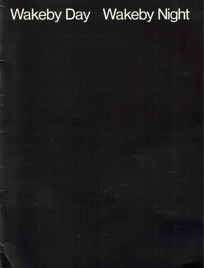 Cambridge: Hayden Gallery, Massachusetts Institute of Technology, 1983. Paperback. Very good. [12pp....