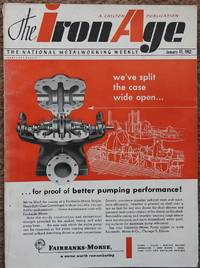 image of The Iron Age, January 17, 1952 : The National Metalworking Weekly