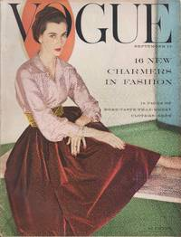 image of Vogue Magazine, September 15, 1954