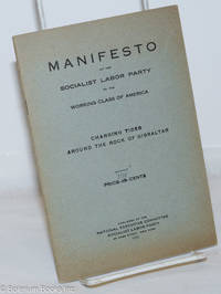 image of Manifesto of the Socialist Labor Party to the working class of America. Changing tides around the Rock of Gibraltar