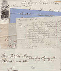 A RHODE ISLAND FACTORY'S CIVIL WAR RECORDS; Civil War Era Archive from the Providence Tool Co. Armory with over 300 manuscript and partially-printed purchase orders, bills, letters, inventory lists, sales records, and other documents