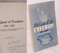 In Quest of Freedom 1918-1958: In Commemoration of the Fortieth Anniversary of Ukrainian Independence
