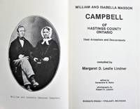 image of William and Isabella Masson Campbell of Hastings County Ontario. Their Ancestors and Descendants
