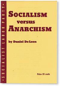 image of Socialism Versus Anarchism: An Address