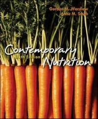 Contemporary Nutrition by Gordon M. Wardlaw - Paperback - 2004-04-03 - from Books Express and Biblio.co.uk