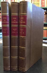 Anne of Geierstein: Or, the Maiden of the Mist. In Three Volumes.