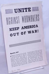 image of Unite against warmakers, keep America out of war!