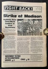 image of Fight Back! Monthly Newspaper of the Attica Brigade (Vol. 1, No. 1)