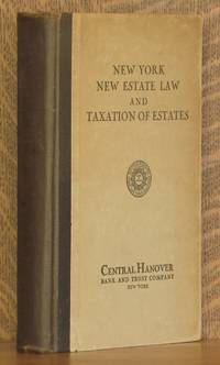 NEW YORK NEW ESTATE LAW AND TAXATION OF ESTATES