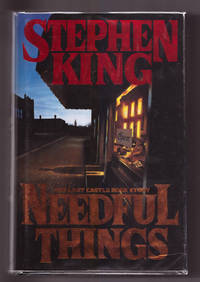 Needful Things: The Last Castle Rock Story by Stephen King - First Edition, First Printing - 1991 - from Uncommon Works, IOBA and Biblio.com