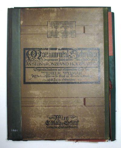 Vienna: Gerlach und Schenk, 1898. hardcover. good. Text in German. 68 full-page & double-page photog...