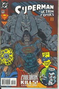 SUPERMAN IN ACTION COMICS 695, JANUARY 1994, 4: CAULDRON KILLS!