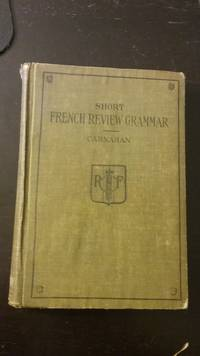 Short French Review Grammar and Composition Book