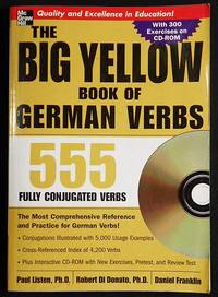 The Big Yellow Book of German Verbs 555 Fully Conjugated Verbs with cd by  Daniel  Robert; Franklin - Paperback - 2005 - from Classic Books and Ephemera and Biblio.com