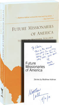 image of Future Missionaries of America (Uncorrected Proof, signed)