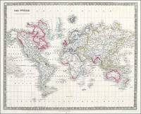 The World on Mercators Projection, Teesdale, ca.1845