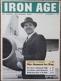 Iron Age, November 21, 1963 : The National Metalworking Weekly
