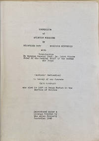 Compendium of aviation medicine. Mimeograph typescript