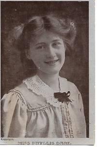 Edwardian Era Stage Actress, Miss Phyllis Dare on 1909 Postcard