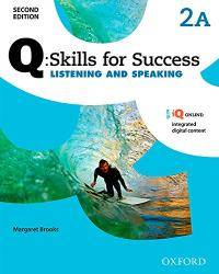 image of Q: Skills For Success Listening and Speaking: Level 2 Student Book A