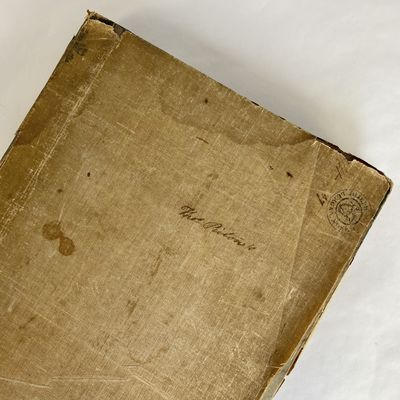 Philadelphia: M. Carey & Sons, 1820. First American Edition. Half Leather. Very Good binding. The Fi...