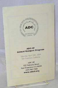 ADC-SF Annual Banquet Program
