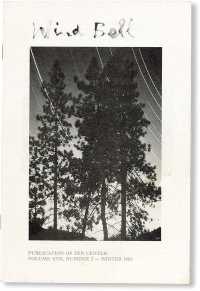 : Zen Center, 1983. First Edition. Paperback. Octavo (23cm.); pictorial staplebound self-wrappers; 3...