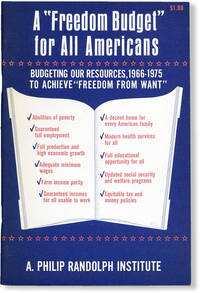 """image of A """"Freedom Budget"""" for All Americans: Budgeting Our Resources, 1966-1975, to Achieve """"Freedom from Want"""""""