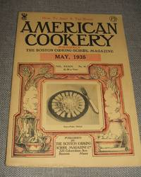 image of American Cookery for May 1935