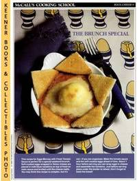 image of McCall's Cooking School Recipe Card: Eggs, Cheese 9 - Eggs Mornay With  Fresh Tomato Sauce : Replacement McCall's Recipage or Recipe Card For  3-Ring Binders : McCall's Cooking School Cookbook Series