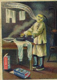 Old Process laundry starch by [China] Old Process starch trade card - from Antipodean Books, Maps & Prints and Biblio.com