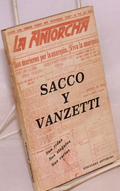 Mexico City: Ediciones Antorcha, 1982. 188p., wraps, crinkling from damp stain; a good reading copy....