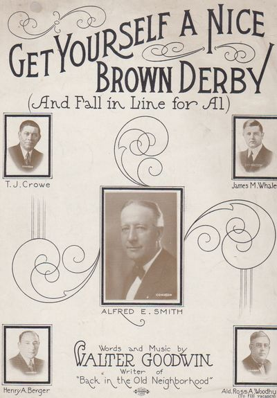 n.p.: n.p.. 1928. First Edition; First Printing. Sheet Music. Wraps, shdet music with a photo of Alf...