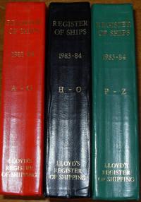 Lloyd's Register of Ships (Three Volumes)
