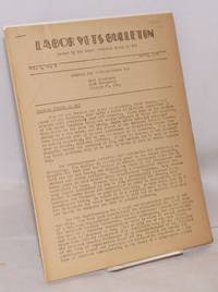 Labor Vets Bulletin [six issues]