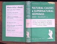 image of Natural Causes & Supernatural Seemings – thinker's library 73