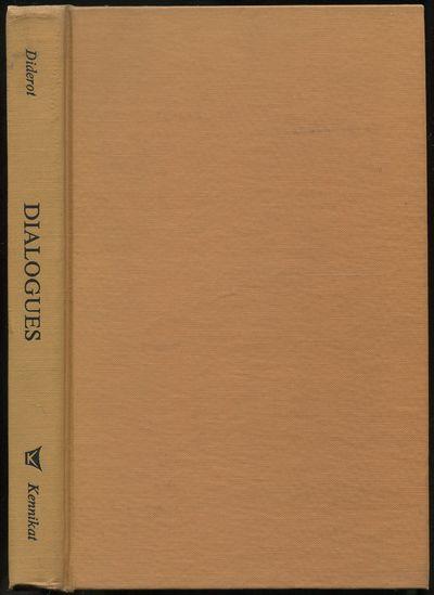 Port Washington, New York: Kennikat Press, 1971. Hardcover. Near Fine. Reprint. 196pp. Translated wi...