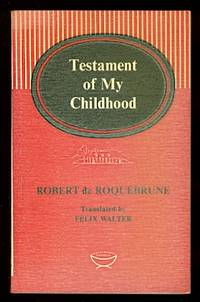 image of TESTAMENT OF MY CHILDHOOD.