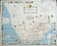 Tourist Map of the Republic of South Africa.