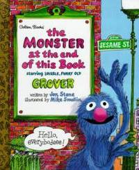 image of The Monster at the End of This Book (Little Golden Storybook)
