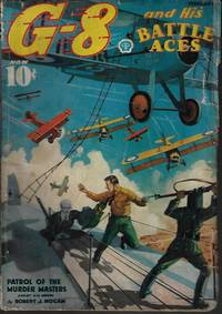 """G-8 AND HIS BATTLE ACES: February, Feb. 1937 (""""Patrol of the Murder Masters"""")"""