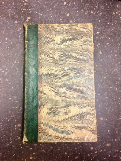 Paris: D. Eymery, 1842. Second Edition. Hardcover. 10mo., 368, pages; VG; 1/4 bound in green leather...